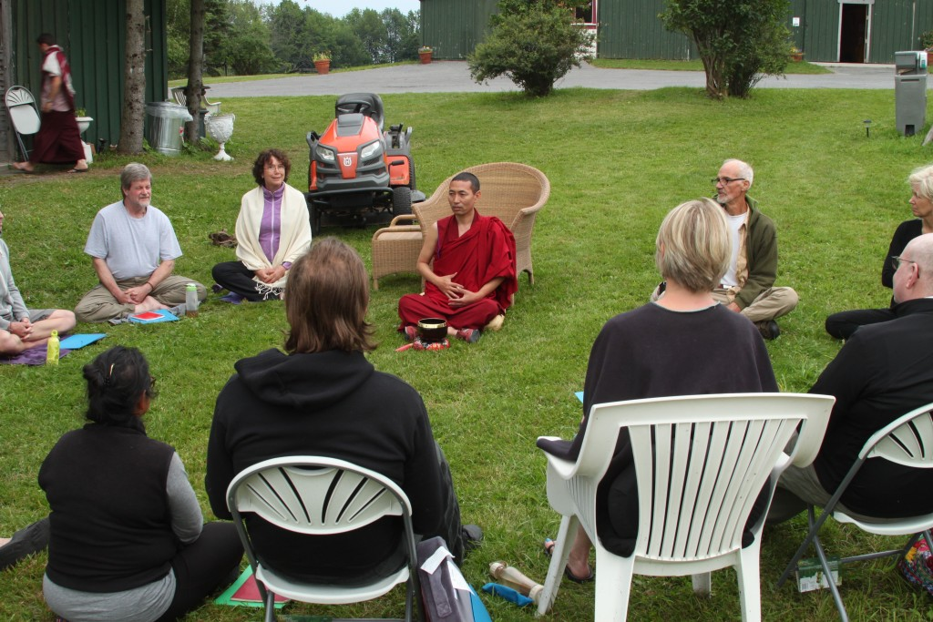 Mahamudra retreat