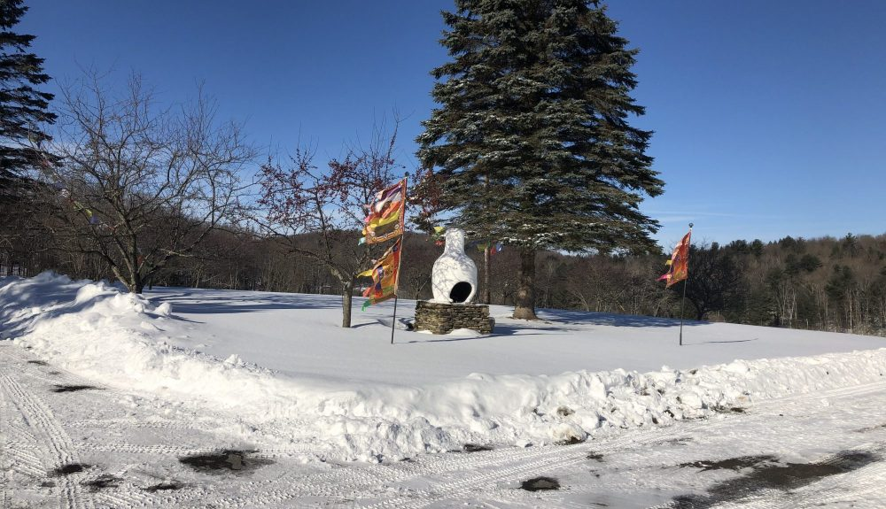 sangpo in the snow